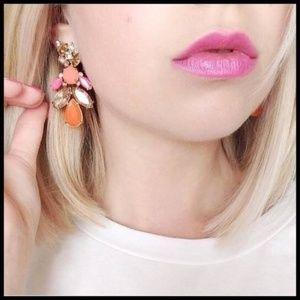 Stella & Dot Pop Geo 2-in-1 Earrings - Like new